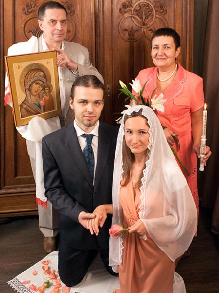 Благословение на свадьбе
